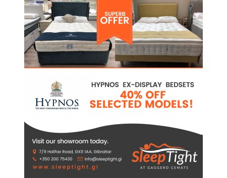 Hypnos Ex-Display bedsets